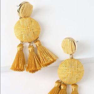 🆕 Camel Tassel Earrings